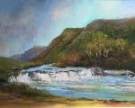 Aasleagh Falls, Oil