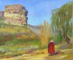 Orange Free State pastoral scene