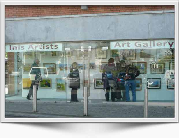 Inis Artists | Gallery, Ennis, Co Clare
